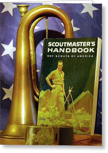 Scoutmaster Greeting Card