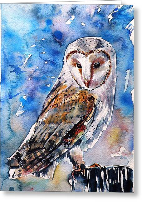 Screech-owl II Greeting Card