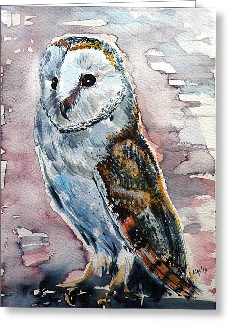 Screech-owl IIi Greeting Card