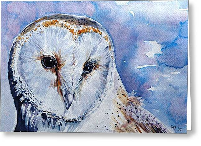 Screech-owl Greeting Card