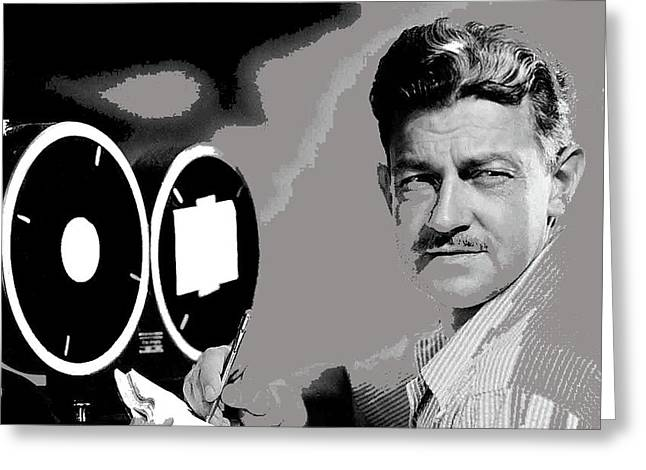 Screenwriter And Director Preston Sturges Circa 1947 Color Added 2016 Greeting Card