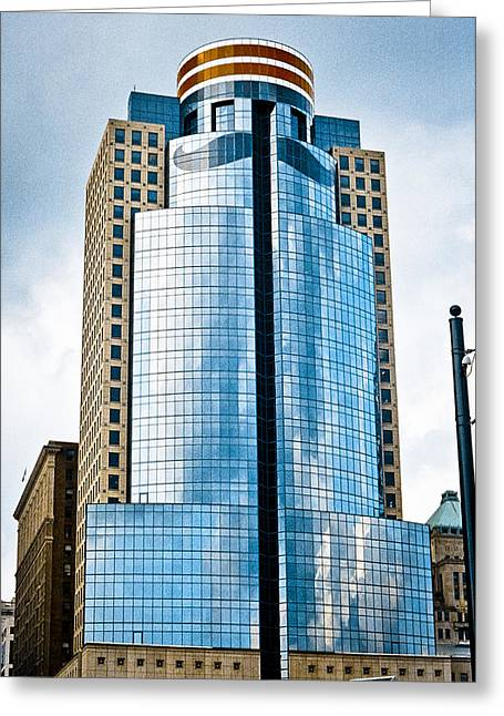 American Pastime Greeting Cards - Scripps Building Greeting Card by Scott Meyer