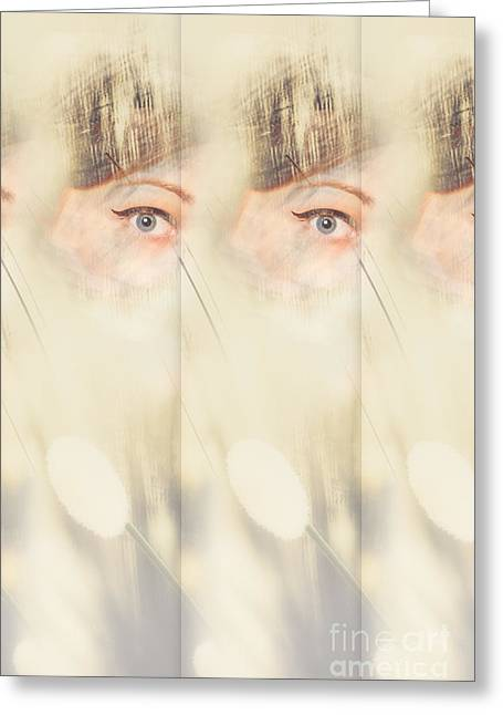 Scrying Parallel Lives Greeting Card by Jorgo Photography - Wall Art Gallery