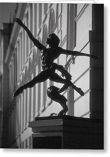 Sculpture London  Greeting Card by Douglas Pike