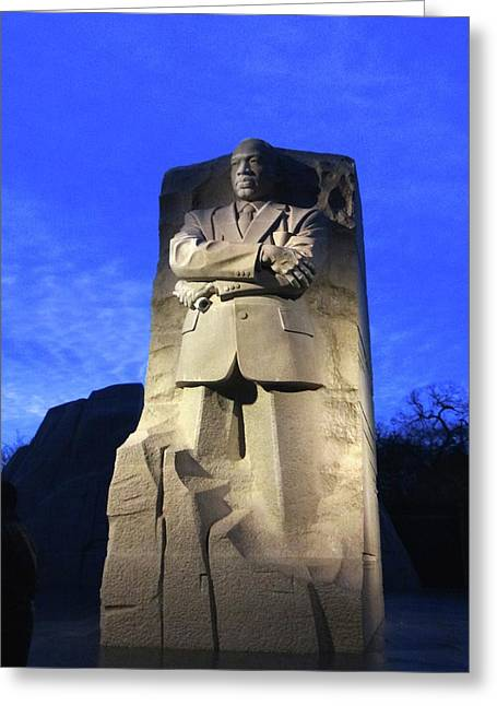 Sculptured Profile Martin Luther King Jr. Greeting Card