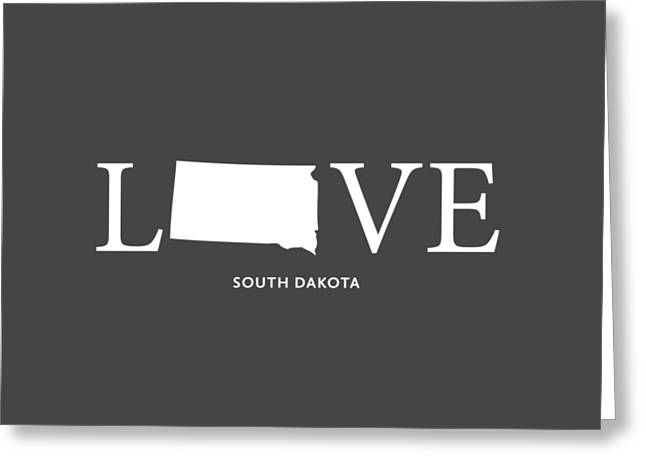 Sd Love Greeting Card by Nancy Ingersoll