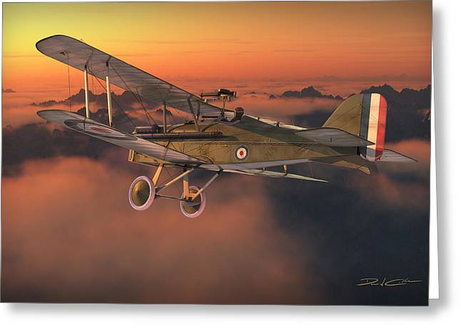 S.e. 5a On A Sunrise Morning Greeting Card by David Collins