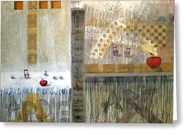 Se Souvenir De La Memoire Greeting Card by Arturo Carrion