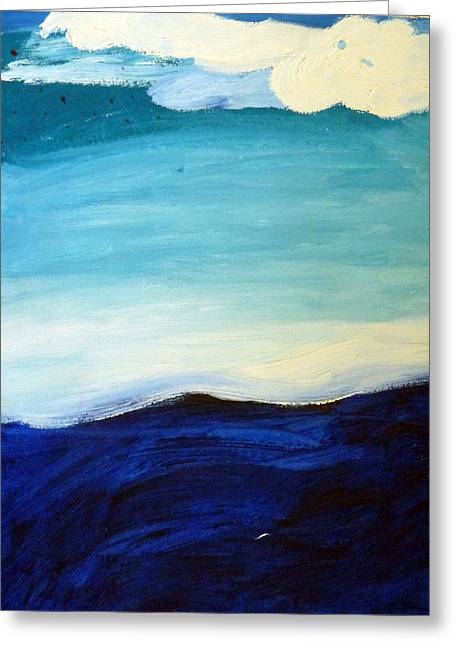 Sea And Sky Greeting Card