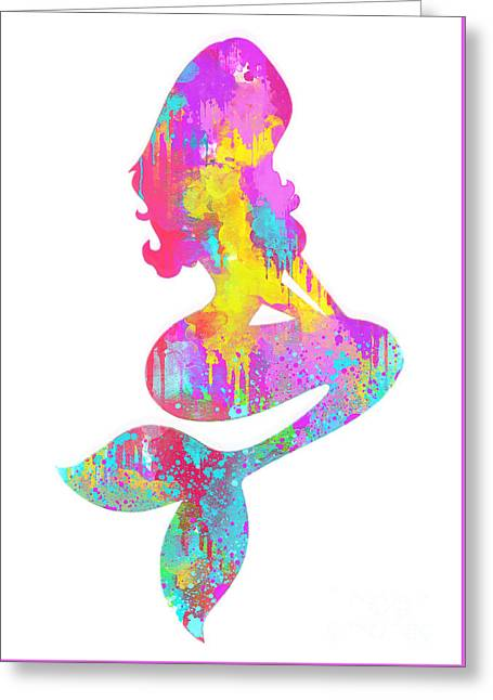 Ariel  The Little Mermaid Greeting Card
