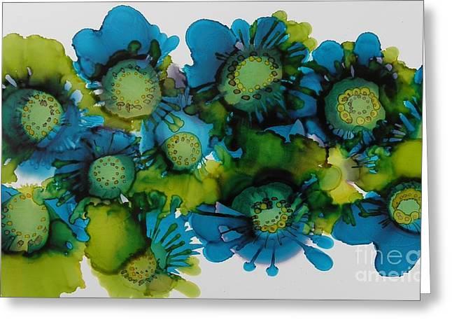 Sea Blooms Greeting Card