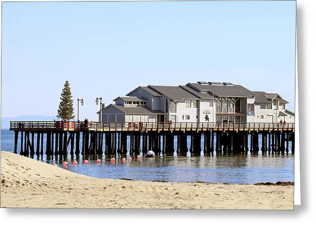 Sea Center - Santa Barbara Greeting Card