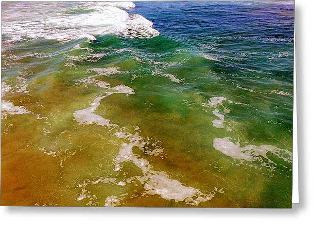 Colorful Ocean Photo Greeting Card