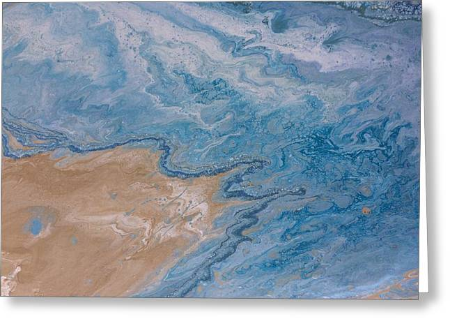 Sea Foam Greeting Card
