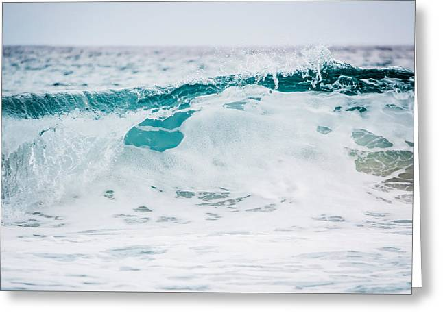 Sea Foam Greeting Card by Shelby Young
