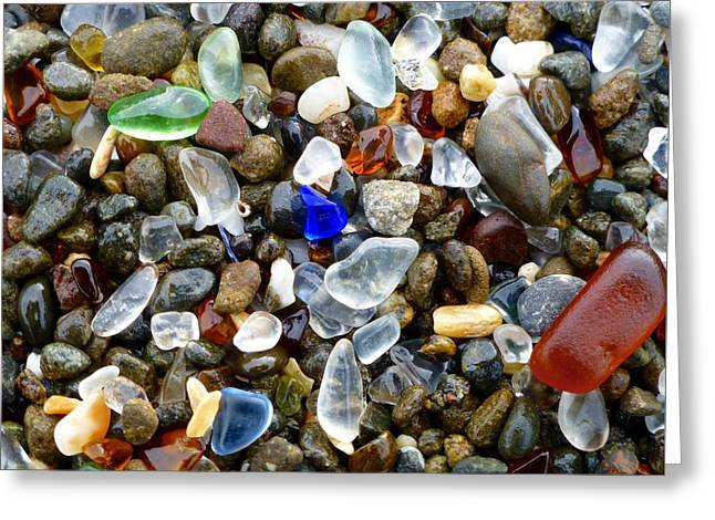 Sea Glass Beauty Greeting Card