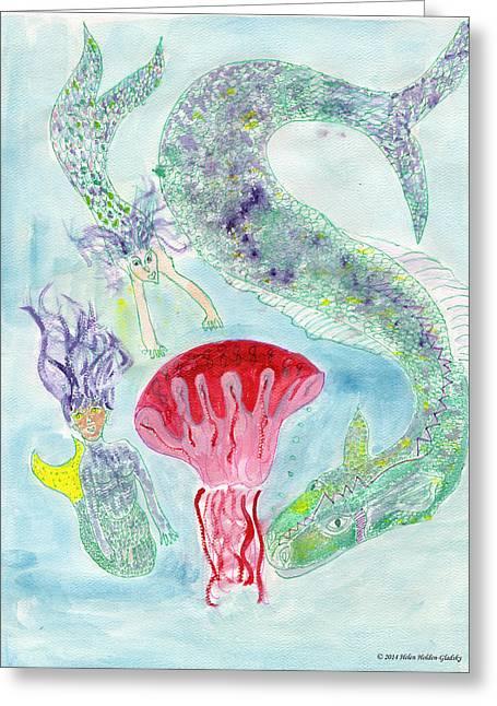 Sea Joys Greeting Card