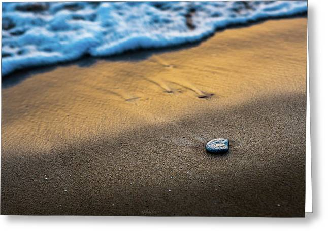 Sea Layers Of Colors Greeting Card