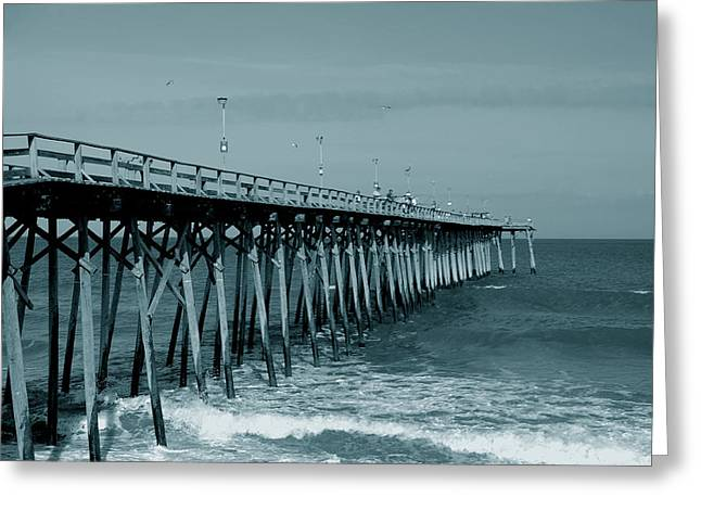Greeting Card featuring the photograph Sea Legs by Kathleen Stephens