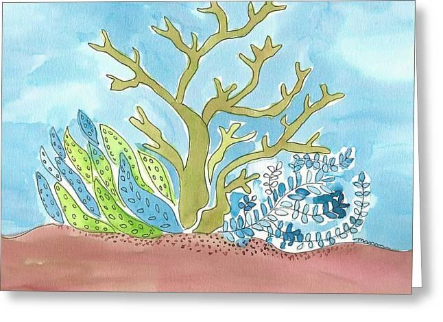 Sea Life I Greeting Card