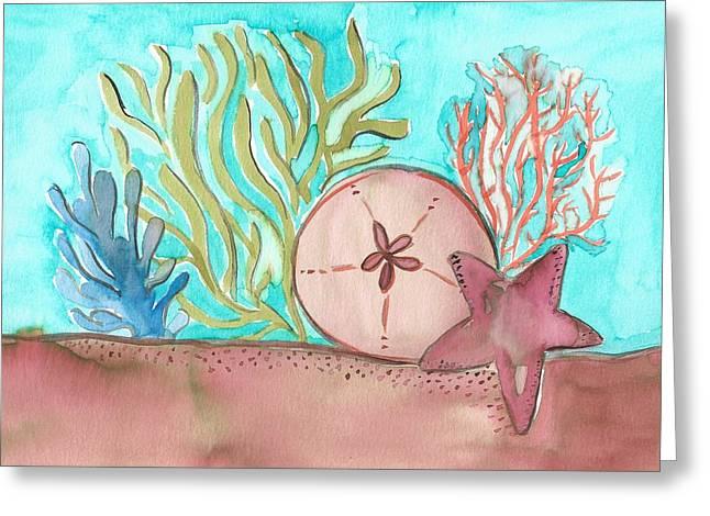 Sea Life II Greeting Card