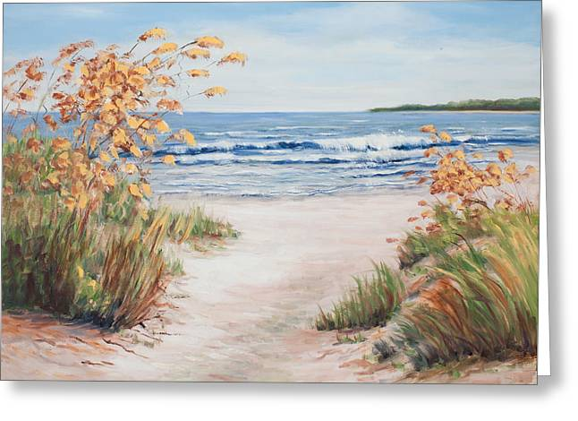 Sea Oats And Sunshine Greeting Card