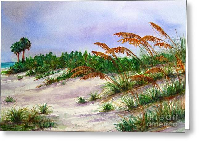 Sea Oats In The Dunes Greeting Card