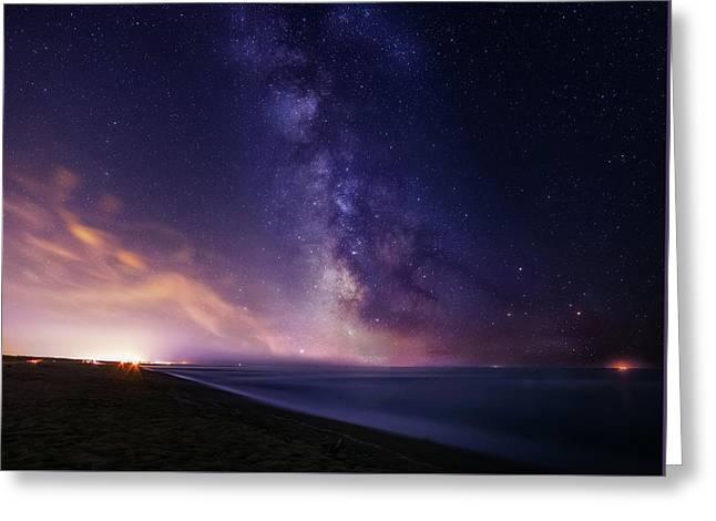 Sea Of Stars Greeting Card
