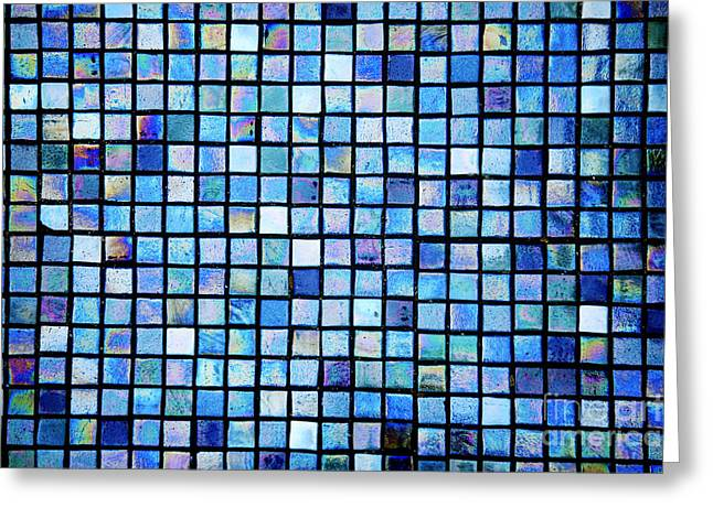 Sea Of Tiles Greeting Card by Brandon Tabiolo - Printscapes