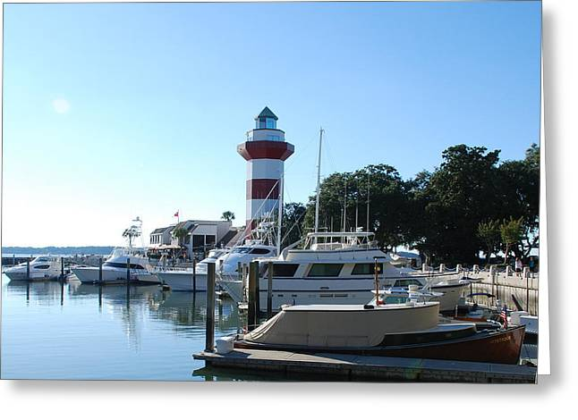Sea Pines Hilton Head Greeting Card