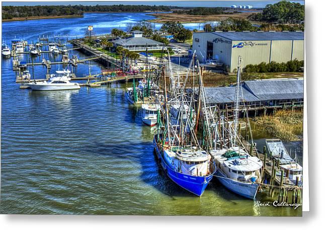 Sea Ray Of Savannah  Greeting Card by Reid Callaway