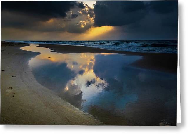 Sea Reflections Greeting Card