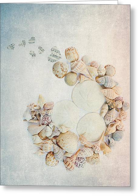 Sea Shells 7 Greeting Card by Rebecca Cozart
