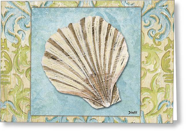 Bath Greeting Cards - Sea Spa Bath 1 Greeting Card by Debbie DeWitt