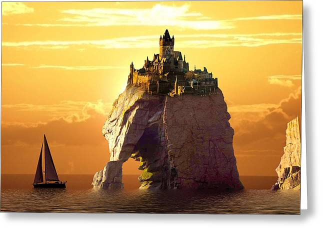 Sea Stack Greeting Card