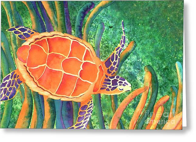 Sea The Beauty Greeting Card by Tracy L Teeter