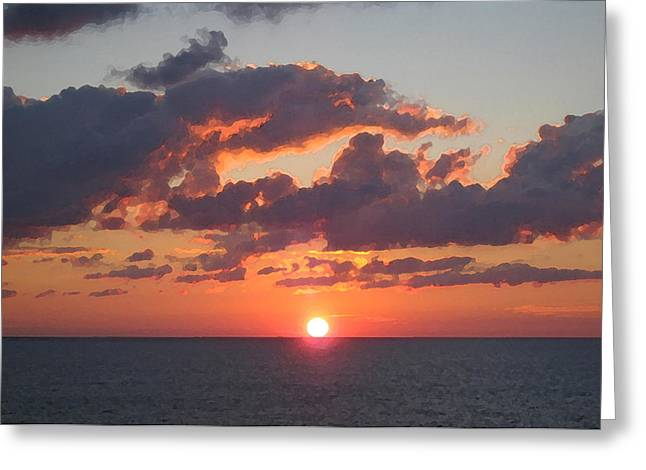 Sea The Light Greeting Card