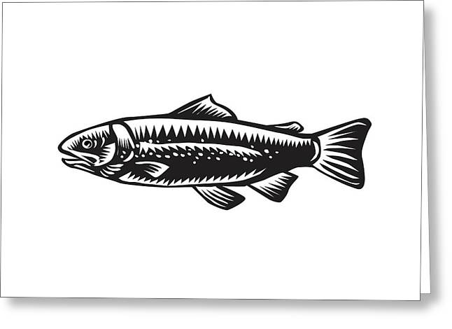 Sea Trout Spotted Greeting Card