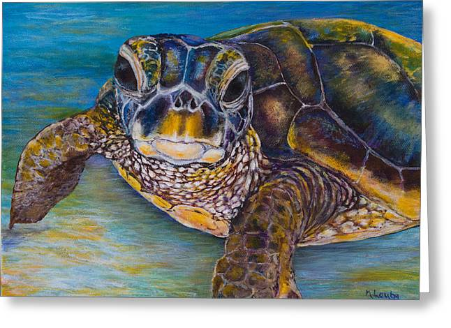 Sea Turtle Greeting Card