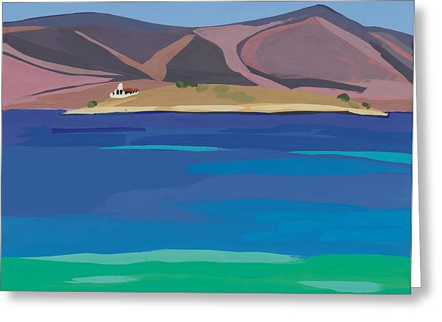 Sea View Dream Greeting Card by Sarah Gillard
