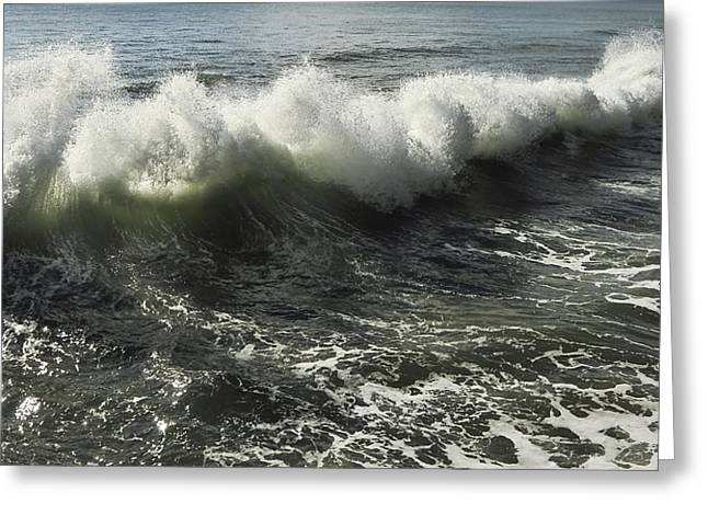 Sea Waves1 Greeting Card by Svetlana Sewell