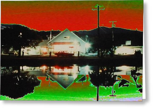Seabeck General Store Greeting Card by Tim Allen