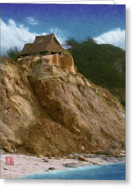 Seacliff House Greeting Card by Geoffrey C Lewis