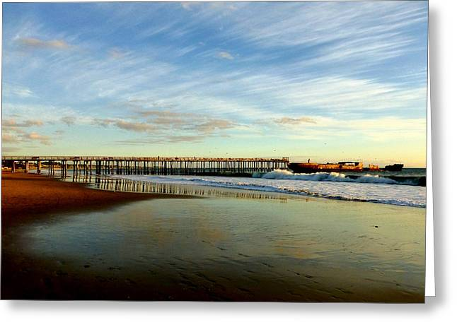 Seacliff Sky Stretch Greeting Card