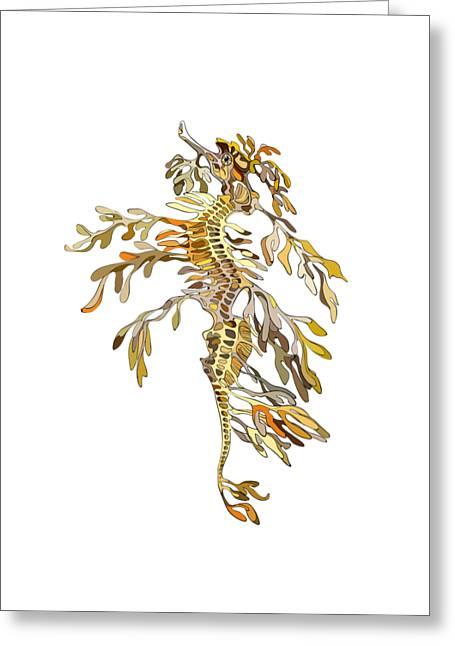 Seadragon Greeting Card