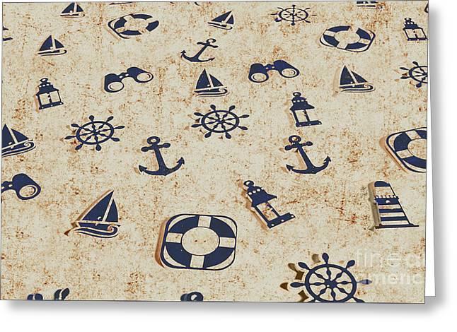 Seafaring Antiques Greeting Card