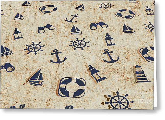 Seafaring Antiques Greeting Card