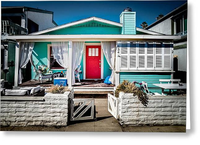 Greeting Card featuring the photograph Seafoam Shanty by T Brian Jones