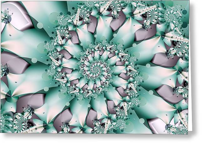Seafoam Spring Greeting Card