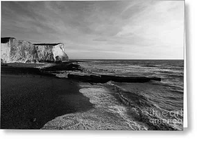 Seaford Head East Sussex England Greeting Card